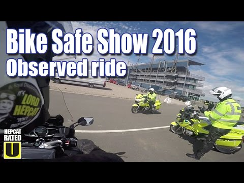 2016 Bike Safe Event Observed Ride on my FJR