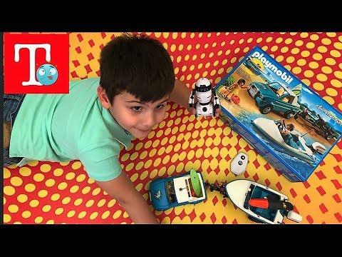 Playmobil και καινούργια παιχνίδια του Τολη Unboxing