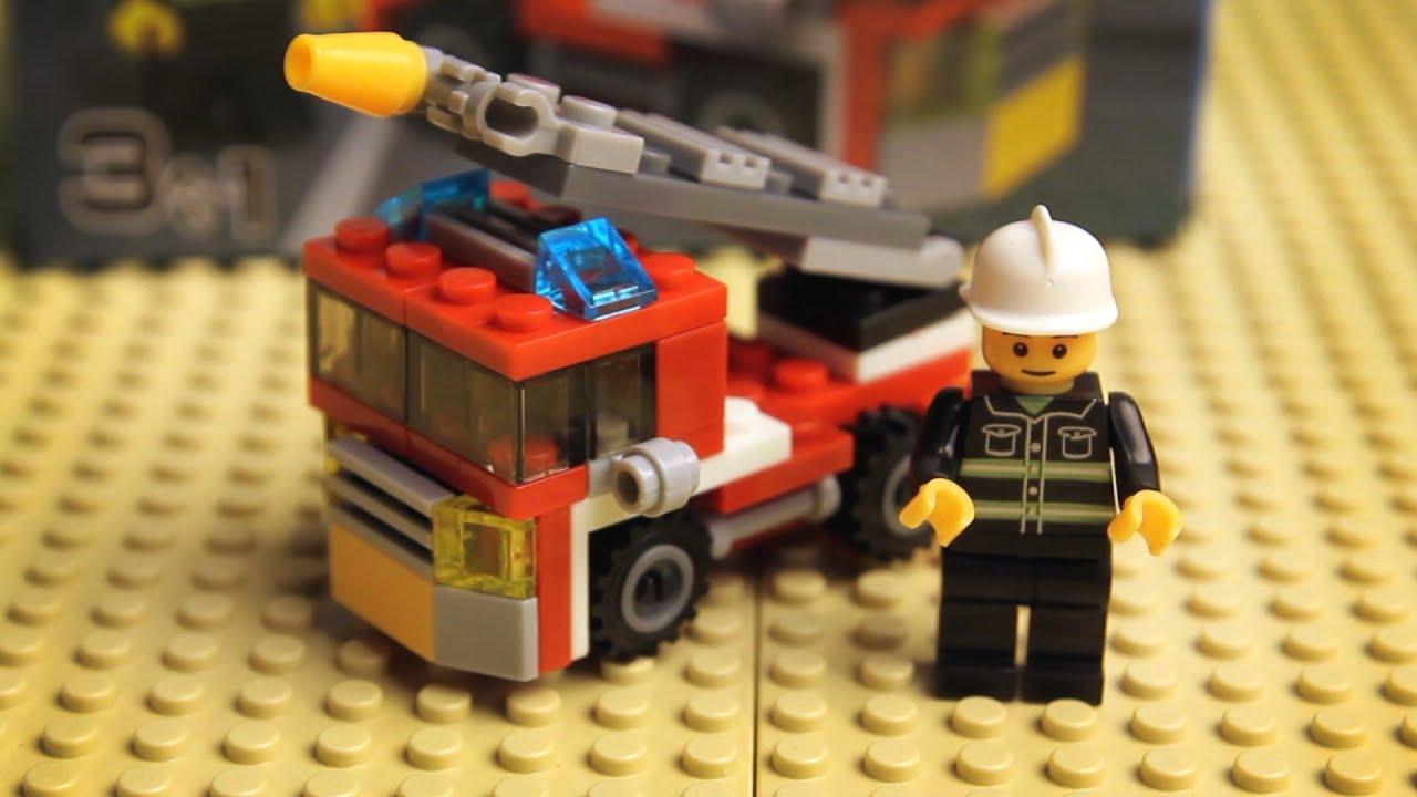Пожарная машина Конструктор лего для мальчиков - китайская ...