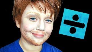ED SHEERAN MAKEUP TUTORIAL!