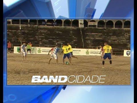 Amistoso Brasil x Amazonas abre estadual 2018 de futebol de areia