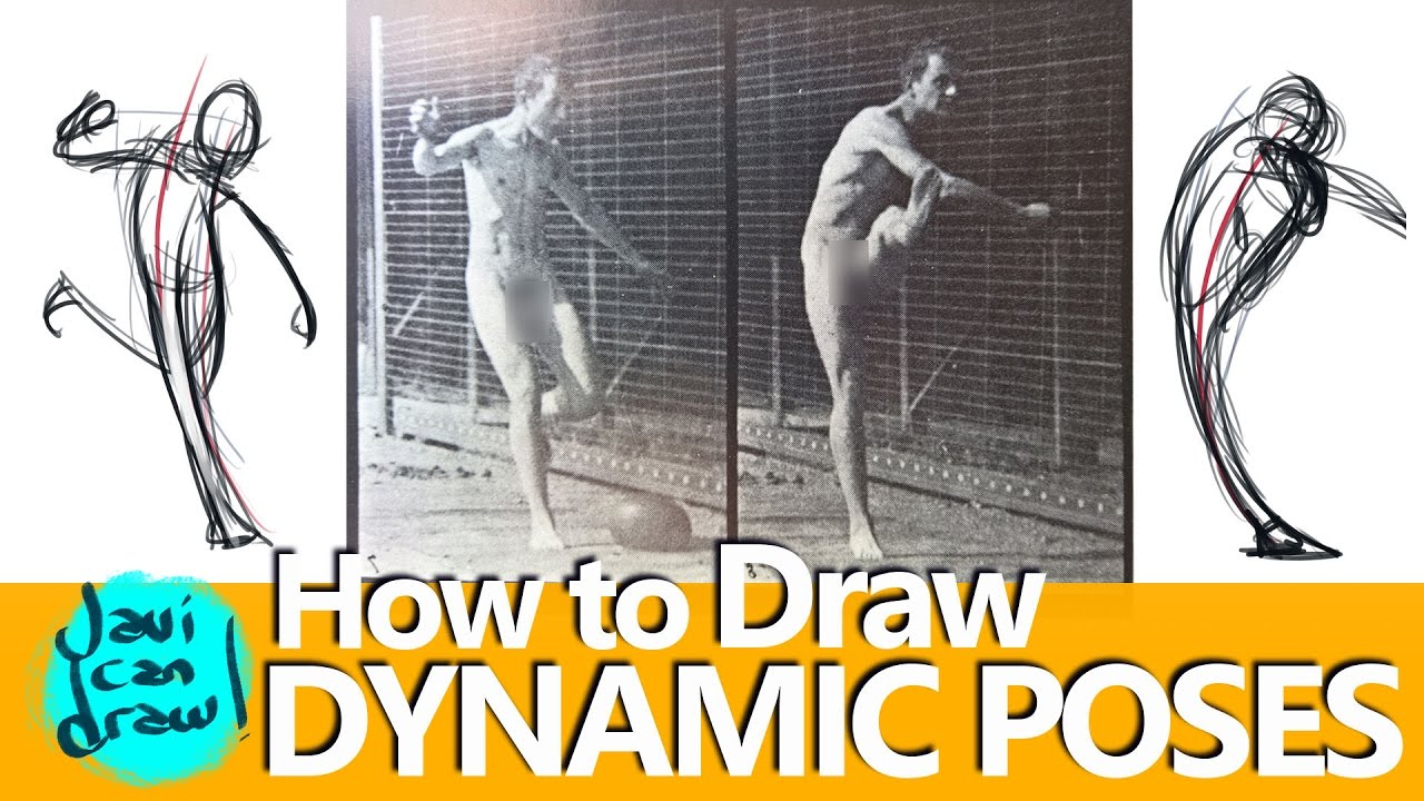 using references to learn how to draw action poses using references to learn how to draw action poses