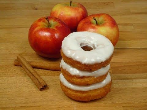 Apfel Donuts/Doughnuts (Apple Donuts/Doughnuts)