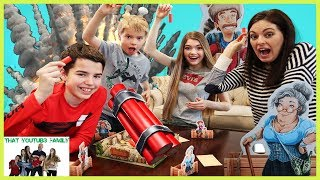 Family Game Night - Boom! Bang! GOLD! Family Fun Game / That YouTub3 Family I Family Channel