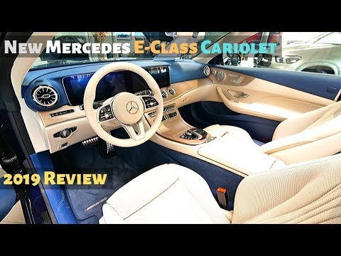 New Mercedes E-Class Cariolet 2019 Review l AMAZING Interior