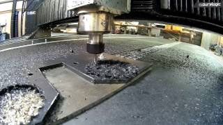 Обработка ПВХ-пластика на Krypton CNC