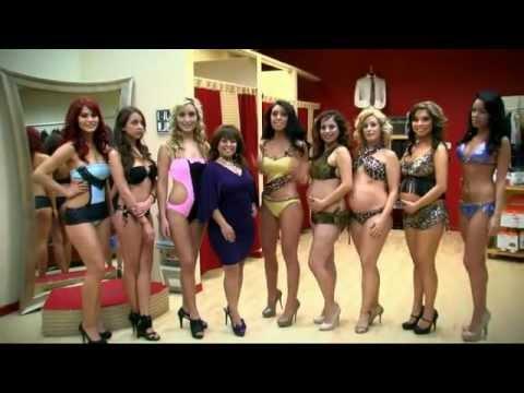 Contest pregnant bikini