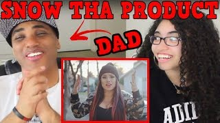DAD REACTS TO SNOW THA PRODUCT I Dont Wanna Leave Remix REACTION   Snow Tha Product Bet That I Will