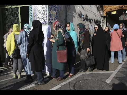 Polling began for the twelfth presidential election in Iran