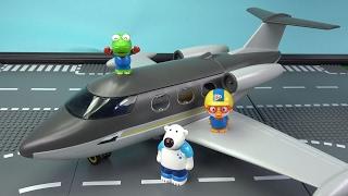 비행기에서 무슨일이? 뽀로로 비행기 첫경험 ❤ 뽀로로 장난감 애니 ❤ Pororo Toy Video | 토이컴 Toycom