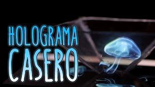 Cómo hacer un holograma casero para el móvil o celular (Experimentos Caseros)
