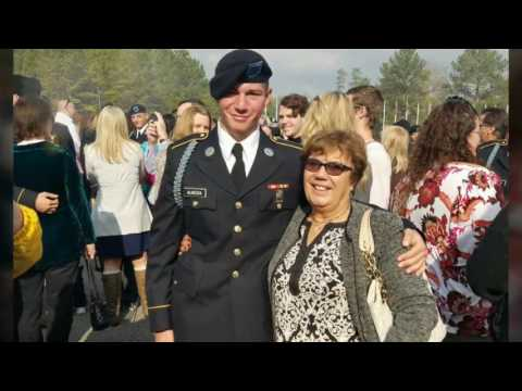 Anthony's Army Graduation  and Turning Blue