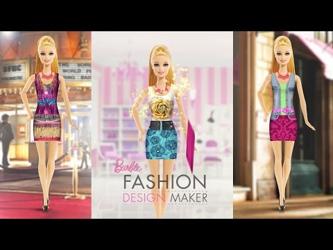 Barbie Fashion Design Maker: Free Android + iPad Game App for Girls