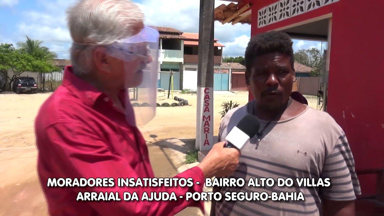 Moradores cobram ações da prefeitura - Porto Seguro-Bahia