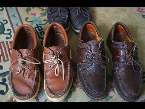 Boat Shoes - Made In USA (Maine) - YouTube