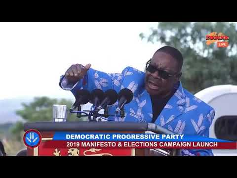 2019 DPP Manifesto and Campain launch at Kamuzu institute for sports on 7 April 2019