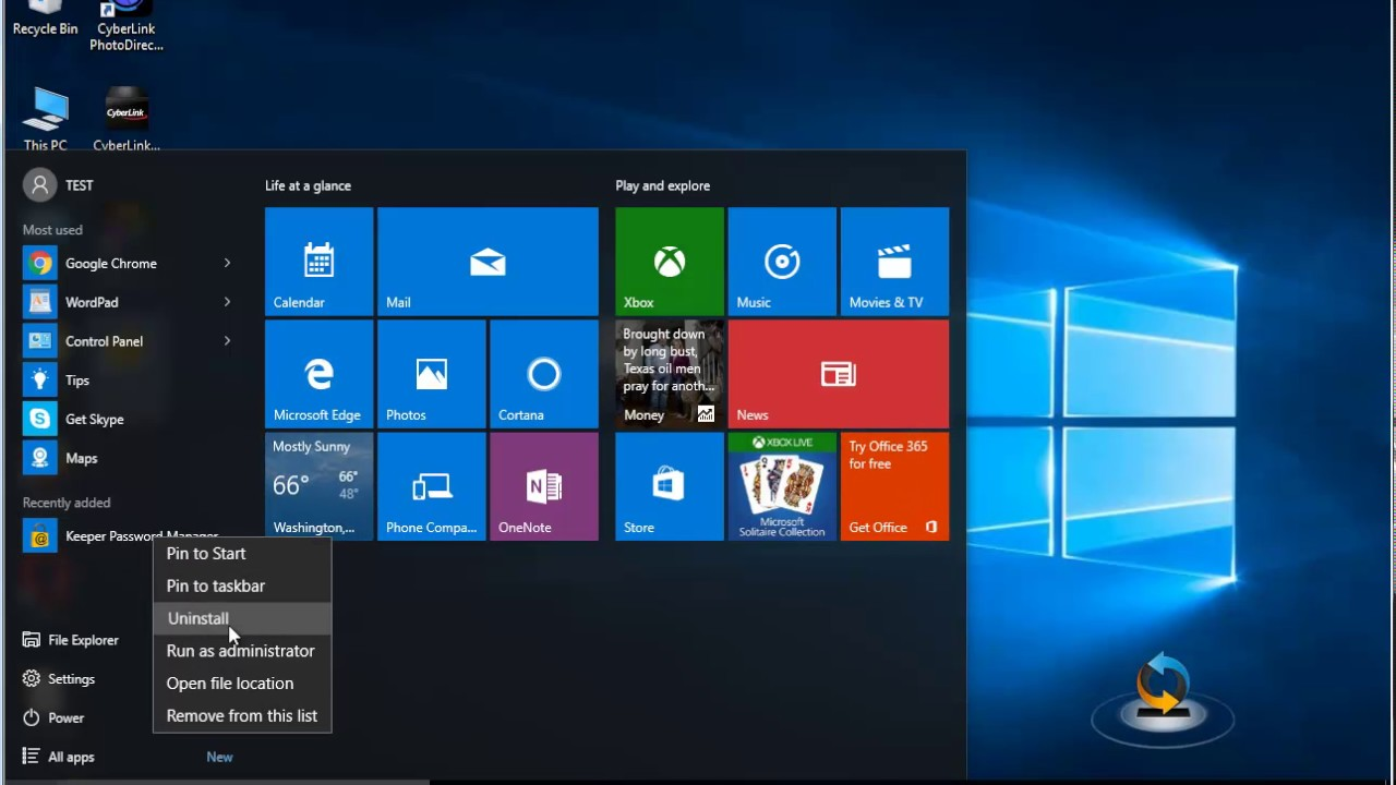 Uninstall Keeper Password Manager On Windows 10 Youtube