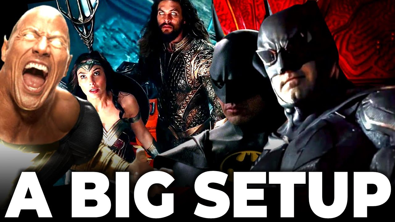 How Much BATFLECK To Expect | JUSTICE LEAGUE Must Fight Black Adam