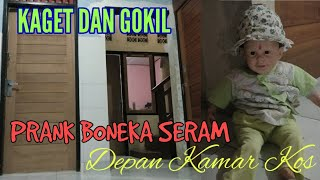NGERI Boneka Depan Kamar Kos di Bali ll Prank Gokil