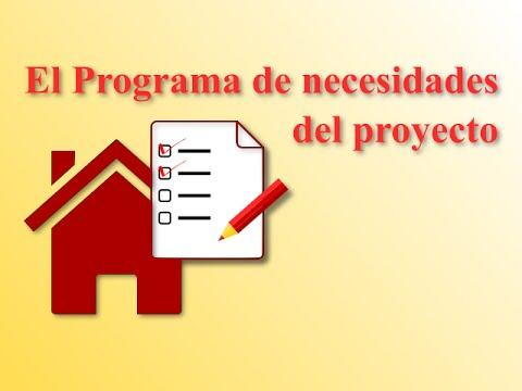 El programa de necesidades en proyectos de edificaci n for Programa de necesidades arquitectura