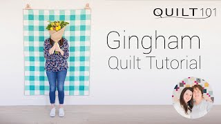 Gingham Quilt Pattern Tutorial