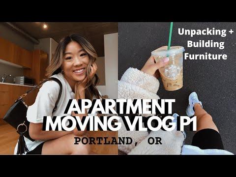 Moving Into My Portland Apartment Part 1 | Marisa Kay