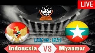 Indonesia vs Myanmar live streaming