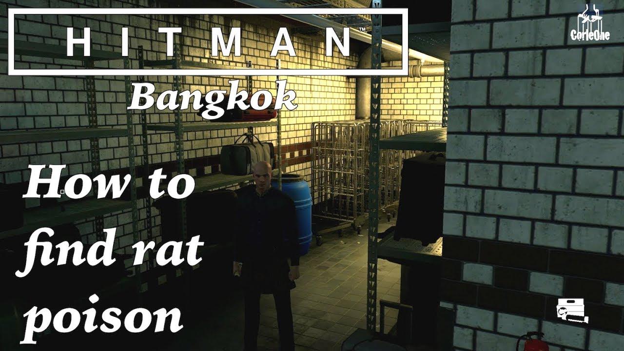 Hitman Bangkok How To Find Rat Poison Youtube