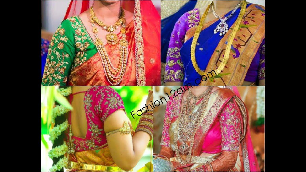 designer blouses for pattu sarees kanchipuram silk