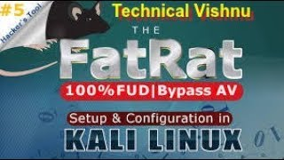 Hindi  What Is Fatrat Tool ?   Setup & Configuration In Kali Linux