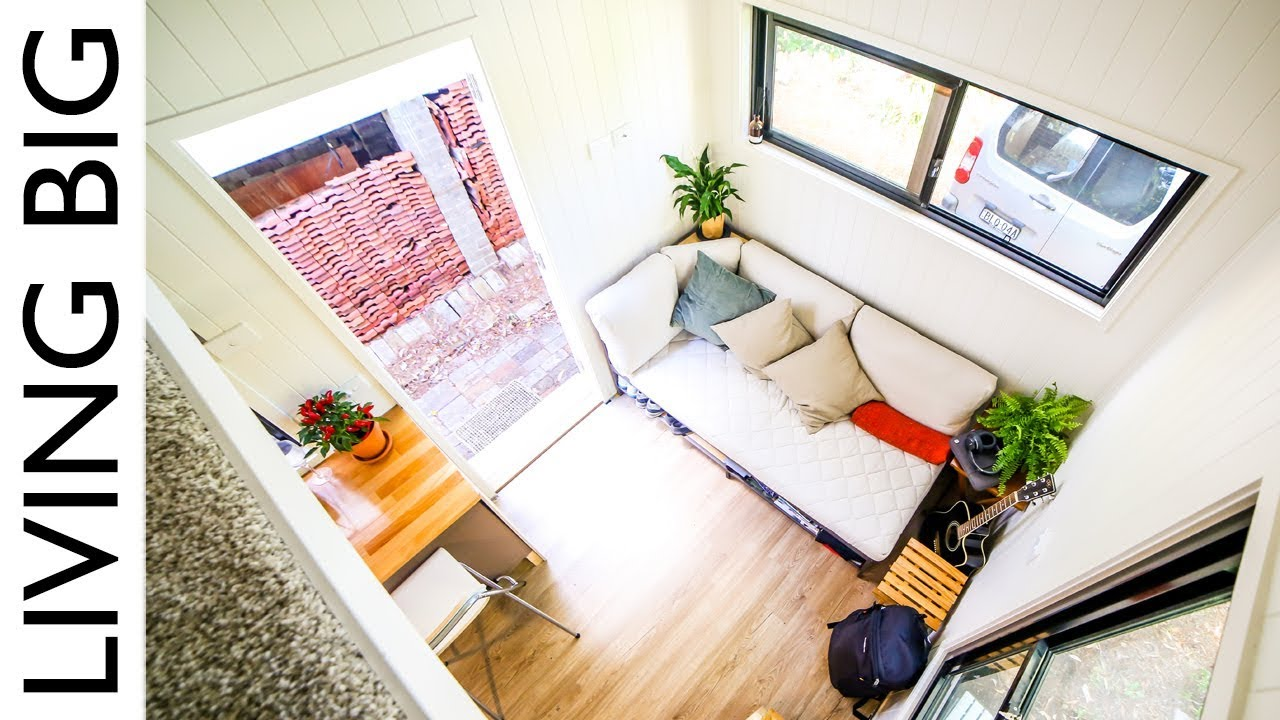 Minimalist Rent Free City Living In A Tiny House Stealth