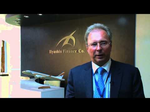 Bombardier by Ilyushin Finance at the Farnborough Air show
