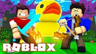 Roblox - PATO GIGANTE DO MAL! (Destroy The Giant Duck)