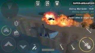 [gunship battle] new update - yf23 black widow ii