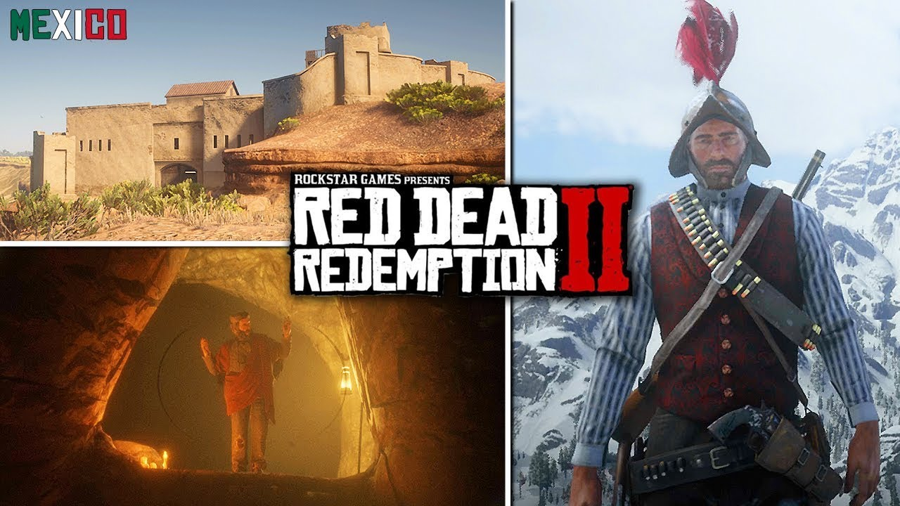 Red Dead Redemption 2 - Secrets & Easter Eggs - Satan, Vampire, Mexico, Roanoke Ghosts & Wol
