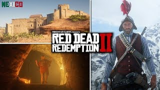 Red Dead Redemption 2 - Secrets & Easter Eggs - Satan, Vampire, Mexico, Roanoke Ghosts & Wolf Man!