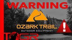 Ozark Trail Tents - What You Need To Know Before Purchasing - Buyer Warning