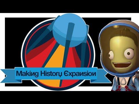 Новое Дополнение KSP: Making History Expansion - Обзор Новых Деталей