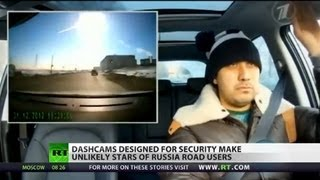 Unlikely Stars: Russian dashcam vids become internet sensations