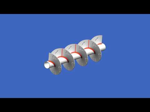 ROBOHELIX - Create a Spiral Auger by Forming Flights with Cut Outs