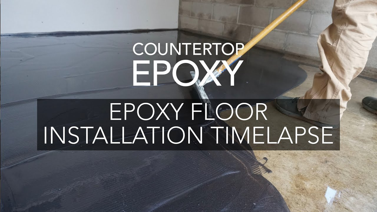 Garage Floor Epoxy Grand Junction Epoxy Floor Installation Timelapse