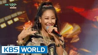 JESSI - SSENUNNI | 제시 - 쎈언니 [Music Bank COMEBACK / 2015.09.18]
