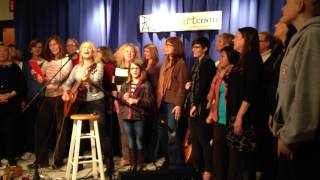 ABWA (American Business Women's Association) song sang by Jill Sobule at Milton Arts Center