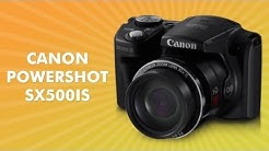 Canon Powershot SX500is Camera Review