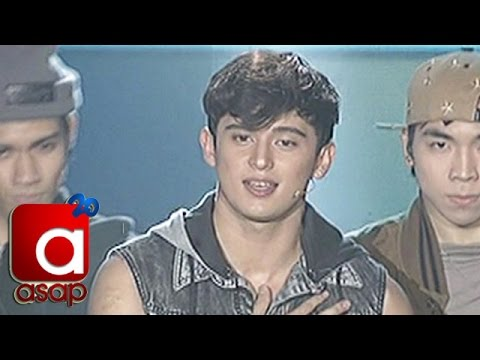 "James Reid sings ""Not A Bad Thing"" on ASAP Birthday Stage"