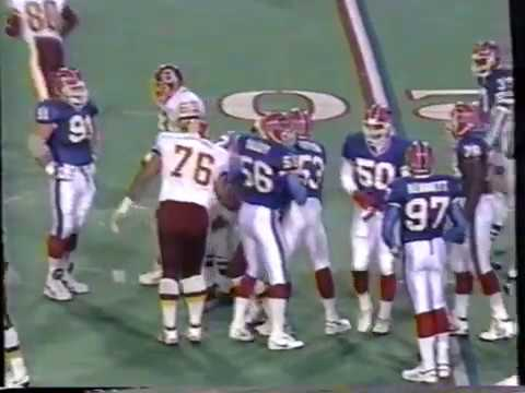 1993 - Week 9 - Washington Redskins at Buffalo Bills