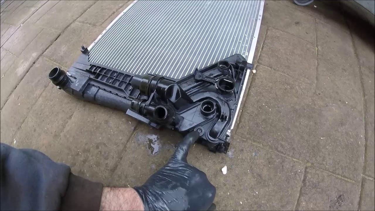 medium resolution of 2000 bmw 318i e46 radiator replacement