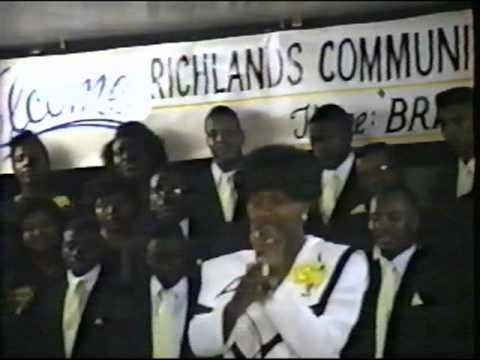 "Richlands Community Mass Choir - ""Great Is Thy Fai..."