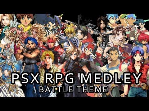 PSX RPG Battle Theme Medley
