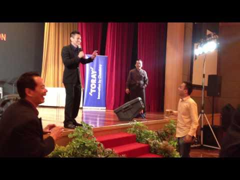 Emcee Adrian Yeoh Malaysia Annual Dinner Emcee Interactive MC Fun Games Emcee